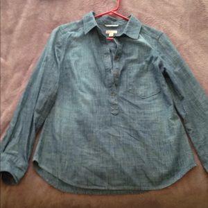 Chambray blouse!